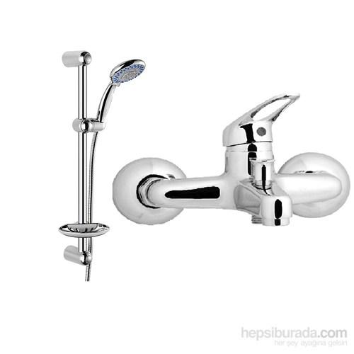 Güven Azra Banyo Bataryası Ve Sürgülü Duş Takımı