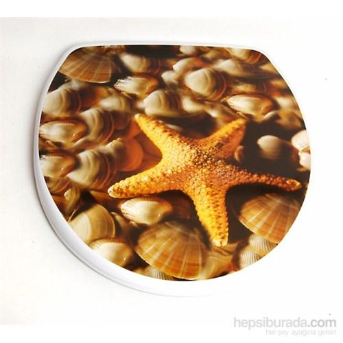 Deniz Yıldızı Melamin Klozet Kapağı