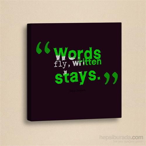 Dekorjinal Slogan Kanvas Tablo Slo077