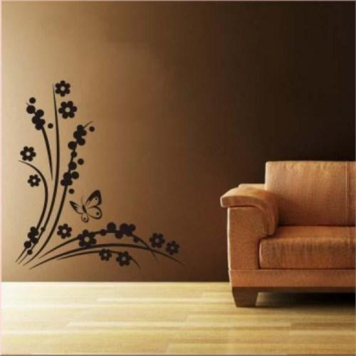 Birka Grafiti - Çiçek ve Kelebek