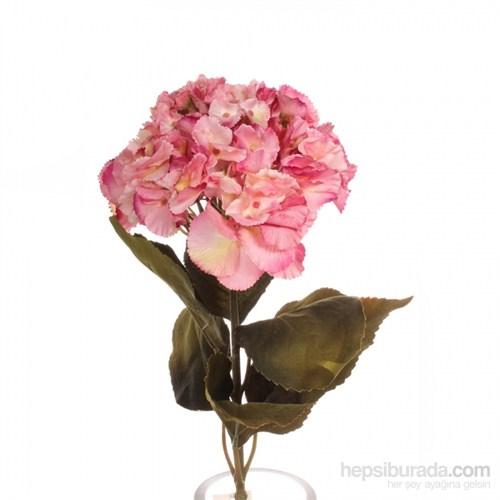 Yedifil Ortanca Pembe Yapay Çiçek 1 Alana 1 Bedava