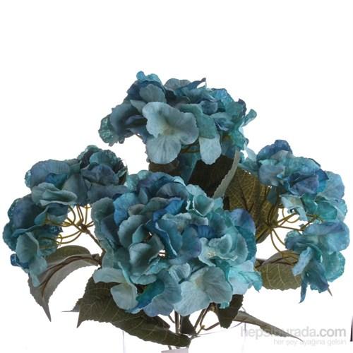 Yedifil Hydrangea Mavi Çiçek 1 Alana 1 Bedava