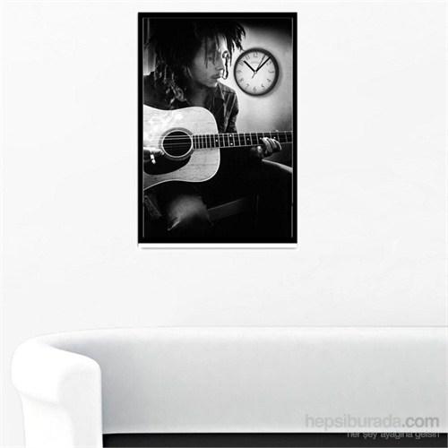 Bob Marley - Çerçeveli Kanvas Saat
