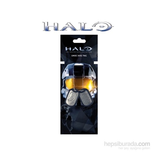 Halo Dog Tags Unsc Master Chief Asker Künyesi