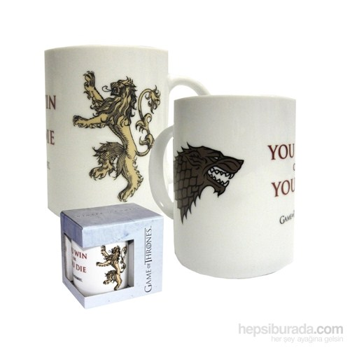 Game Of Thrones You Win Or You Die Ceramic Mug Kupa Bardak