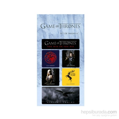 Game Of Thrones Magnet Seti C