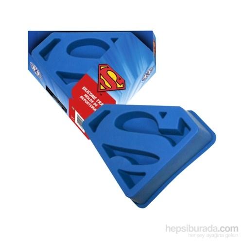 Dc Comics Silicone Baking Tray Superman Logo Kalıp Seti