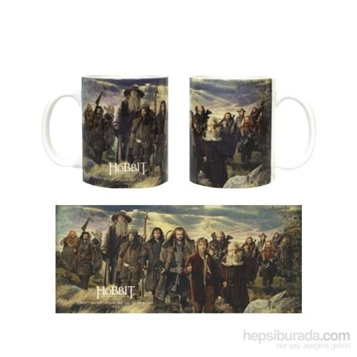 The Hobbit Characters Ceramic Mug Bardak