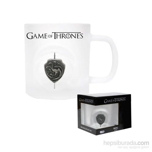 Game Of Thrones 3D Rotating Targaryen Logo Crystal Mug Bardak