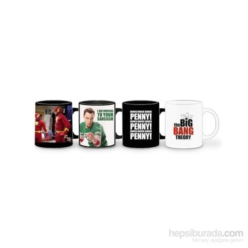 Big Bang Theory Set Of 4 Espresso Mug Set Espresso Shot Seti