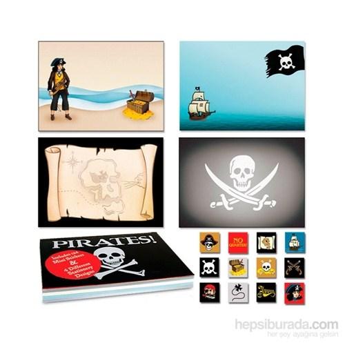 Korsan Not Defteri & Sticker