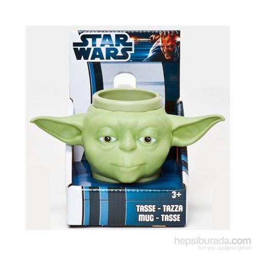 Star Wars 3D Kupa Bardak Yoda - 3 Boyutlu