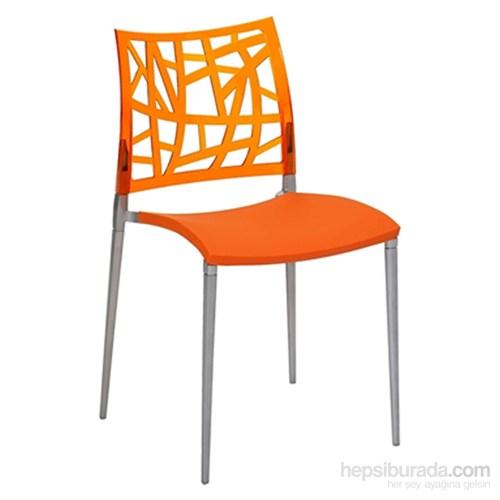 Neptün Pc Sandalye Portakal