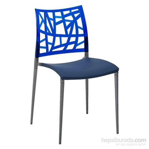 Neptün Pc Sandalye Saks Mavi-Mavi