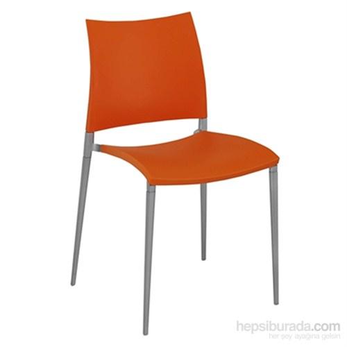 Neptün Sandalye Portakal