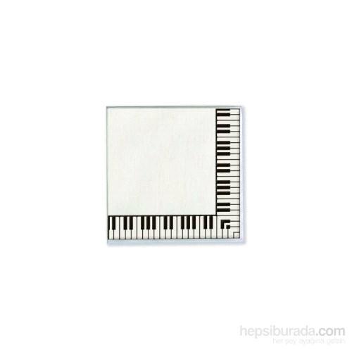 Piyano Tuşeli Peçete