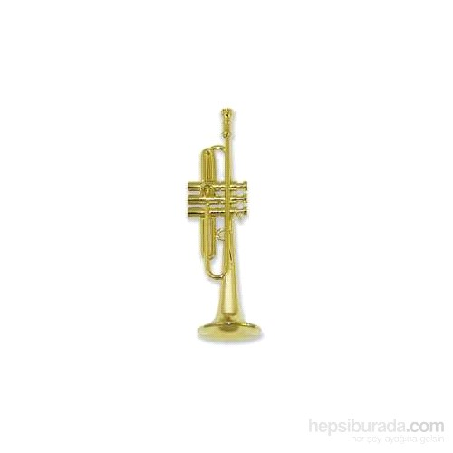 Minyatür Trompet Altın Rengi