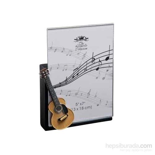 Minyatür Klasik Gitar Fotoğraf Çerçevesi