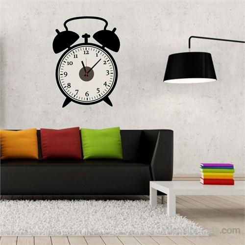 Hardymix Retro Saat Tasarımlı Duvara Yapışan Saat