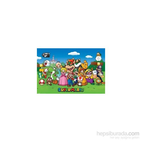 Maxi Poster Super Mario Characters
