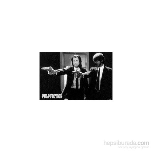Maxi Poster Pulp Ficiton B&W Guns