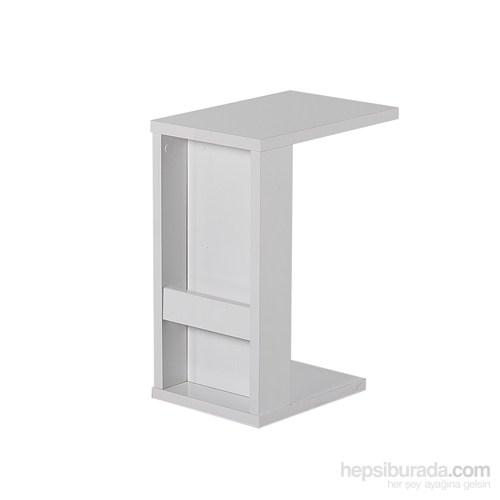 Nav Decoration Pratik C Sehpa 30X45x60 Cm - Beyaz