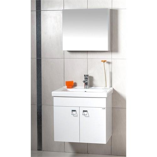 Sude 65 Cm Banyo Dolabı Beyaz