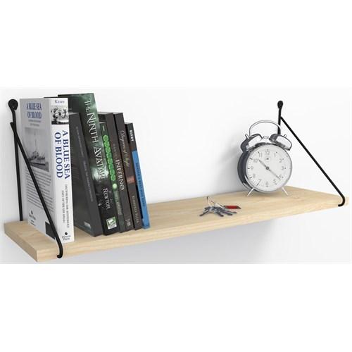Decormet Armoni Raf ve Kitaplık Seti 1 Raflı 200X720 Akçaağaç