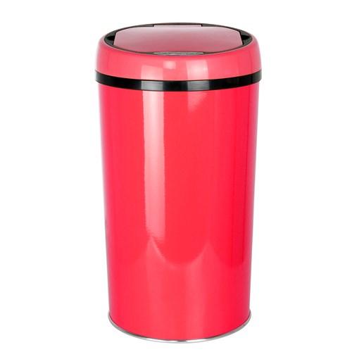 Hiper Sensörlü 12lt Kırmızı Çöp Kovası