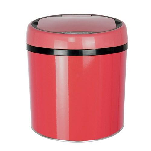 Hiper Sensörlü 6lt Kırmızı Çöp Kovası