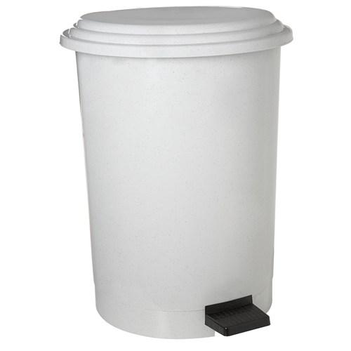 Dayco Plastik Pedallı Çöp Kovası 6 Lt Beyaz