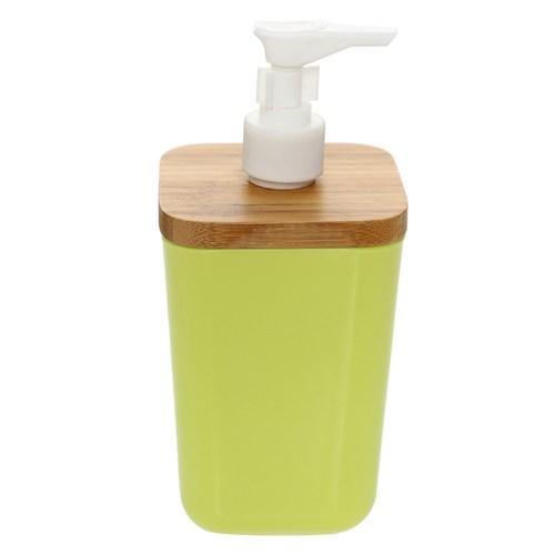 Bosphorus Bambu Yeşil Melamin Sıvı Sabunluk