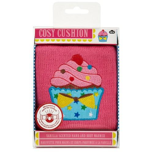 Npw Cozy Cushıon - Cupcake - Esanslı Sıcak Yastık - Küçük Boy