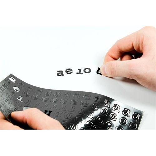 Suck Uk Frıdge Fonts - Alfabe Magnetler - Buzdolabı İçin Mıknatıslı Daktilo Fontları