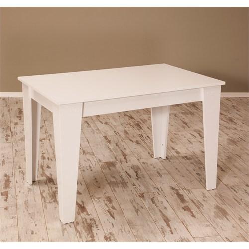 Sanal Mobilya Star Mutfak Masası Parlak Beyaz