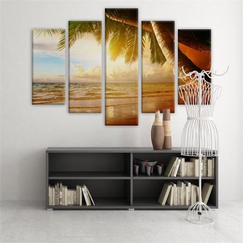 Dekoratif 5 Parçalı Kanvas Tablo-5K-Hb061015-20