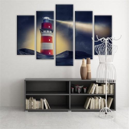 Dekoratif 5 Parçalı Kanvas Tablo-5K-Hb061015-35
