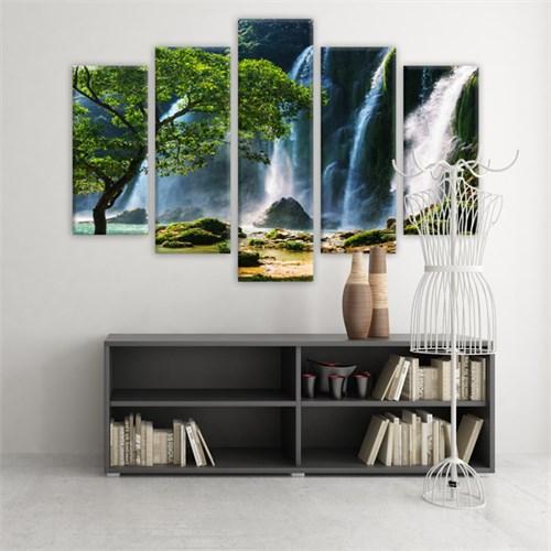 Dekoratif 5 Parçalı Kanvas Tablo-5K-Hb061015-42