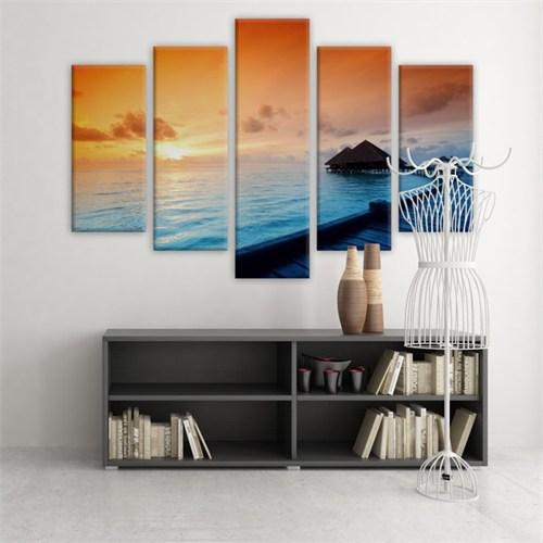 Dekoratif 5 Parçalı Kanvas Tablo-5K-Hb061015-50