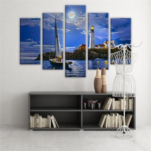 Dekoratif 5 Parçalı Kanvas Tablo-5K-Hb061015-53