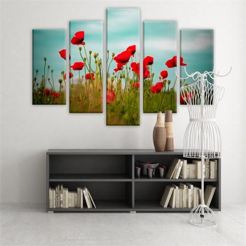 Dekoratif 5 Parçalı Kanvas Tablo-5K-Hb061015-82