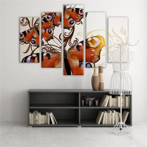 Dekoratif 5 Parçalı Kanvas Tablo-5K-Hb061015-89