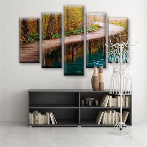 Dekoratif 5 Parçalı Kanvas Tablo-5K-Hb061015-93