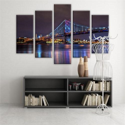Dekoratif 5 Parçalı Kanvas Tablo-5K-Hb061015-98