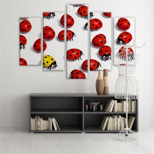 Dekoratif 5 Parçalı Kanvas Tablo-5K-Hb061015-108