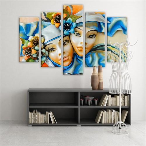 Dekoratif 5 Parçalı Kanvas Tablo-5K-Hb061015-140