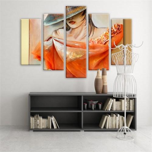 Dekoratif 5 Parçalı Kanvas Tablo-5K-Hb061015-141