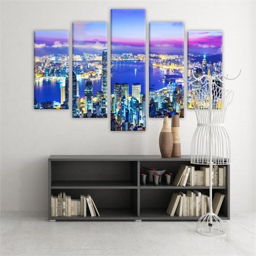Dekoratif 5 Parçalı Kanvas Tablo-5K-Hb061015-146