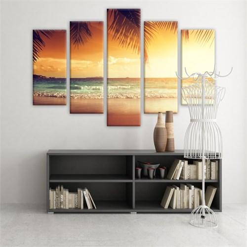 Dekoratif 5 Parçalı Kanvas Tablo-5K-Hb061015-149