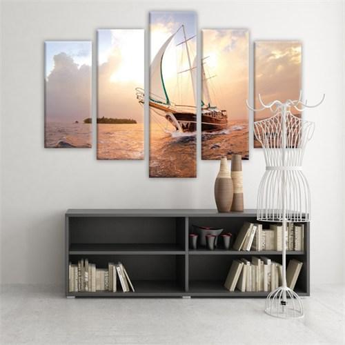 Dekoratif 5 Parçalı Kanvas Tablo-5K-Hb061015-151